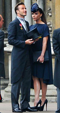 Celebs At The Royal Wedding David And Victoria Beckham Royal Wedding Harry And Meghan Wedding