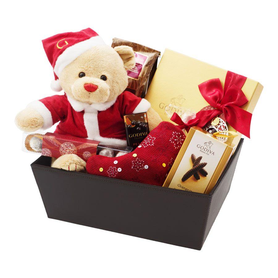 Godiva Christmas Family Hamper Godiva Family Christmas Christmas Bear