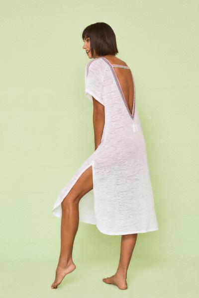 V Back Dress In 2020 Dresses Dress Backs Fashion