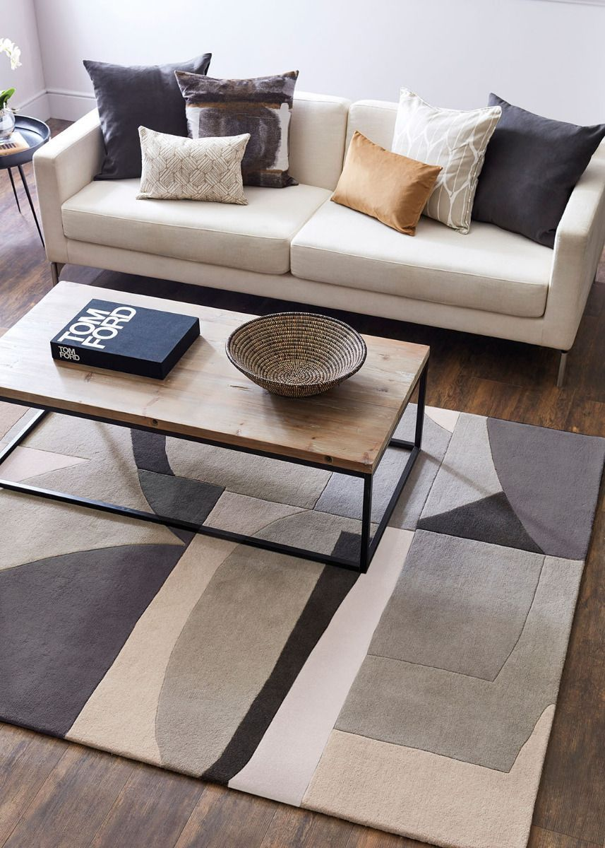 Bodega Stone Sku 040504 Perfect For Modern And Contemporary Homes The Harlequin Bodega Stone Rug Features A Striking In 2020 Stone Rug Rugs Geometric Pattern Rug