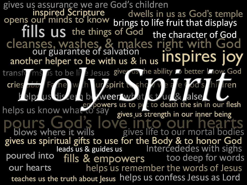 Names of the holy spirit god pinterest holy spirit names inspirational illustration of the holy spirit the holy spirit lives in us to bring negle Image collections