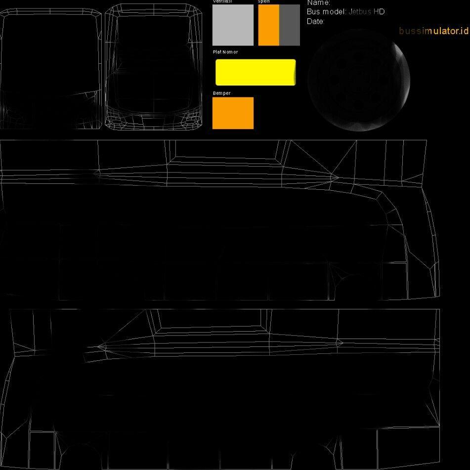 Bikin skin bus simulator | bikin akun bus simulator Indonesia