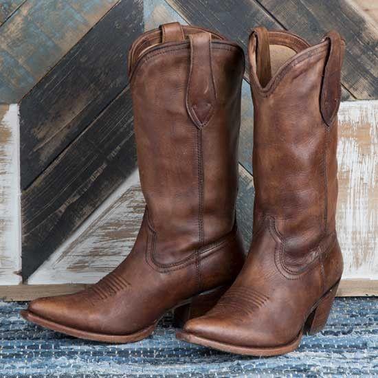 de929542e0c Ariat Josefina Naturally Distressed Brown Boot in 2019 | BECAUSE (I ...