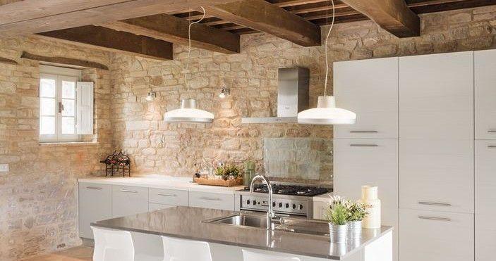 Cucina Moderna Con Tetto In Legno.Risultati Immagini Per Tetto In Legno Villa Moderna Idee Travi In