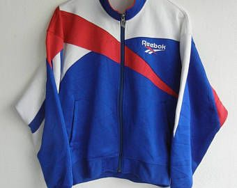 liberar información sobre último descuento Super barato REEBOK Vintage 90s grande Logo hechizo a Reebok Multicolor pista ...
