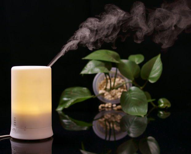 Candela diffusore di aroma e olio essenziale ad ultrasuoni for Umidificatore gisa