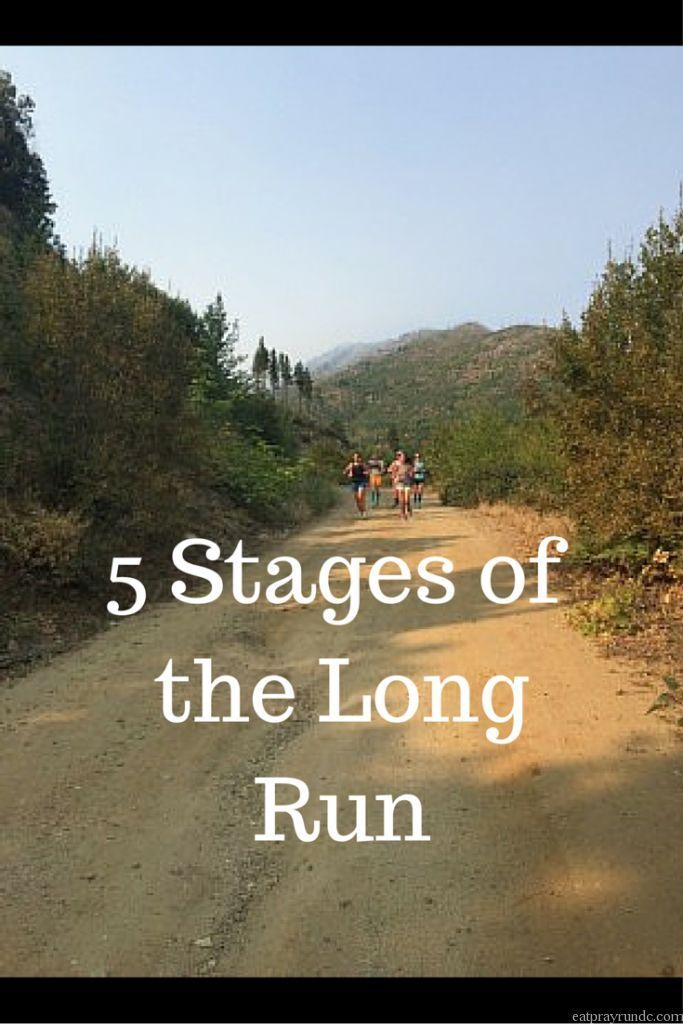 Are you a runner? Then you will completely relate to these 5 stages of the long run! What stages do you most identify with? via @EatPrayRunDC