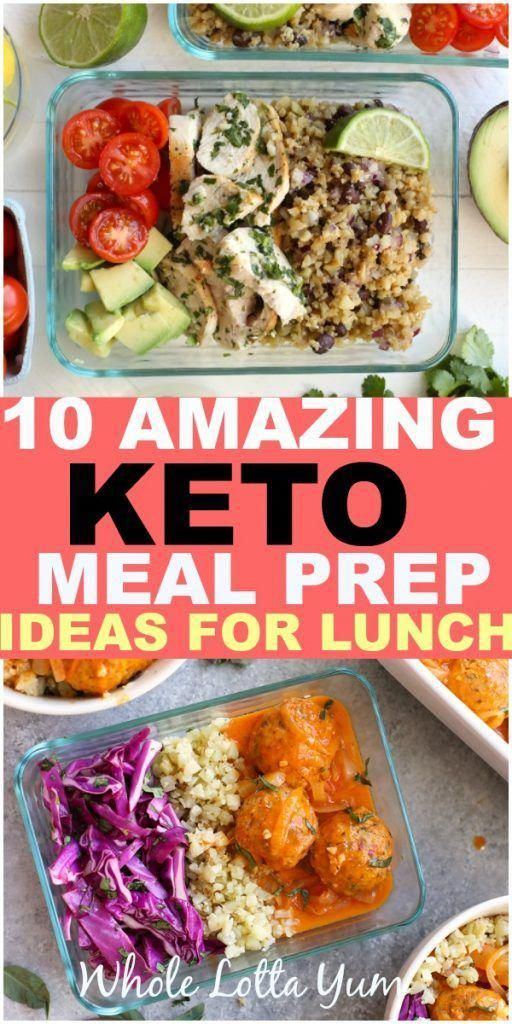 30 Low Carb Lunch Ideas You Can Meal Prep 10 easy keto meal prep lunches that take the guesswork out of your healthy and keto work lunches! These make easy low carb batching cooking recipes you can meal prep for your week.