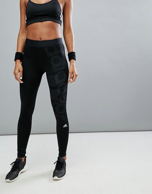 539d2ada35d01 adidas Training Tight In Black in 2019 | Real Job Real Money ...