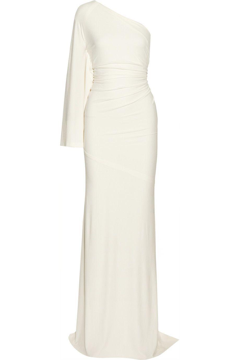12 Non Typical Designer Wedding Dresses Featuring Lanvin Temperley Hervé Léger Roland