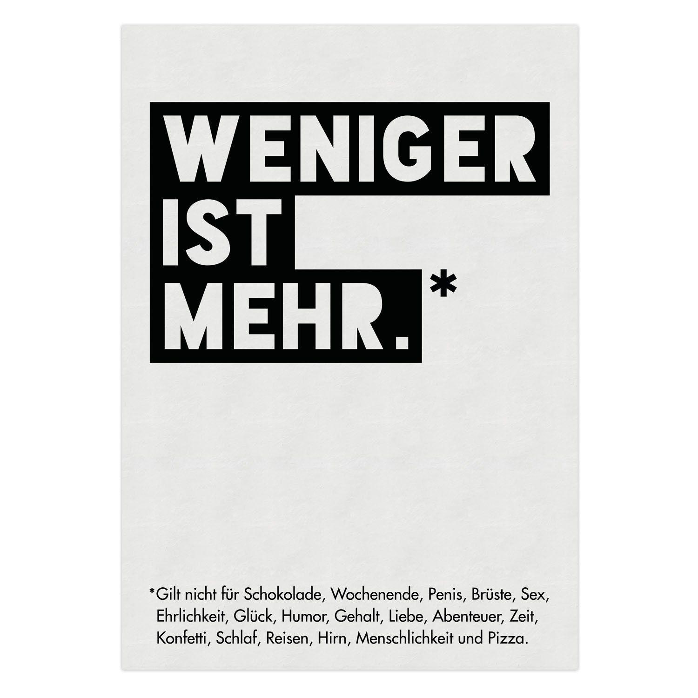 VISUAL STATEMENTS® Poster mit Spruch / Verschiedene Motive & Sprüche ...