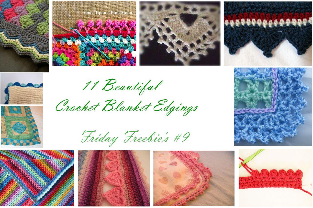 Last weeks Friday Freebie\'s were about crochet blankets, this week ...