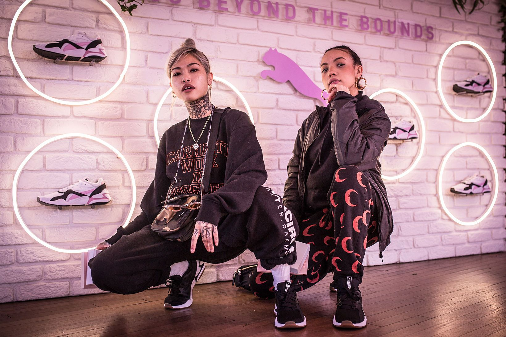 Here Is What Went Down at the PUMA NOVA '90s Bloc Sneaker ...