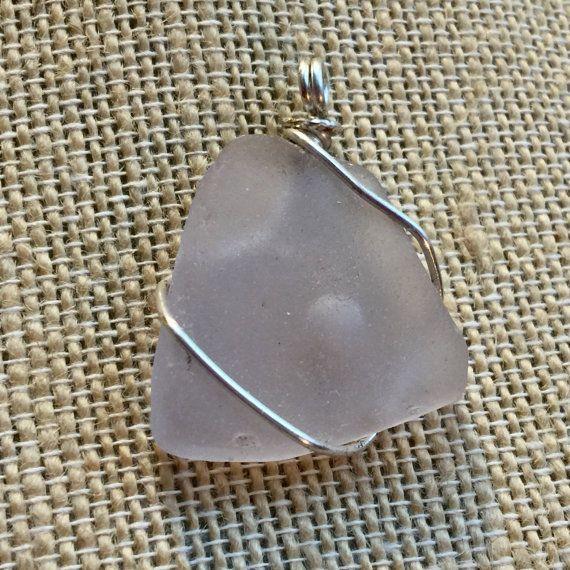 Purple Sea Glass Pendant ~ Amethyst Texas Found SeaGlass Jewelry ...