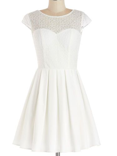 e2a1511a685 10 White Graduation Dresses Under  100 That Will Make You Totally ...