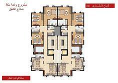 مخطط شقق تمليك تصميم عمارة سكنية مخططات مشروع شقق عمارةواحة مكة الشقق التمليك Mosque Architecture Design Architecture