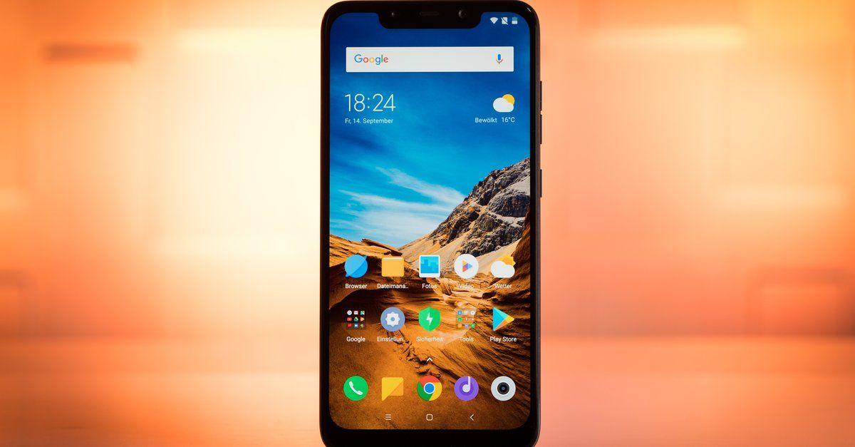 Pocophone F1 Im Preisverfall Xiaomi Handy Zum Schleuderpreis Erhaltlich Smartphone Kaufen Erstes Smartphone