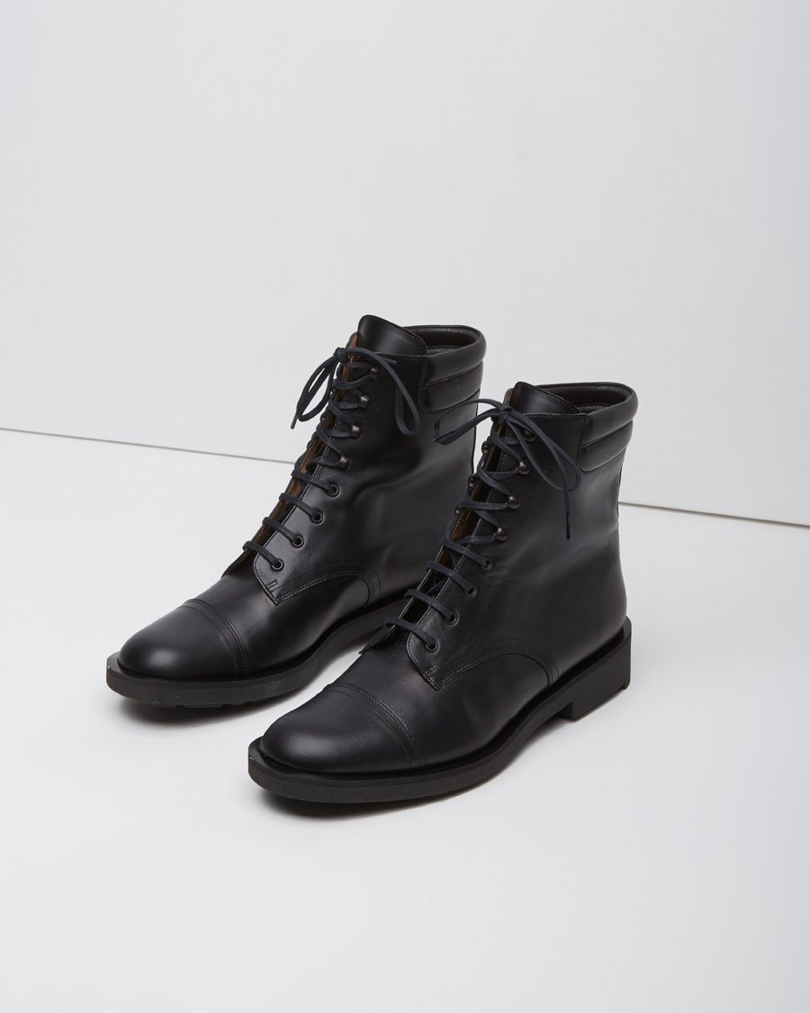 store sale tumblr online Robert Clergerie Leather Lace-Up Ankle Boots pre order sale online OCqhA