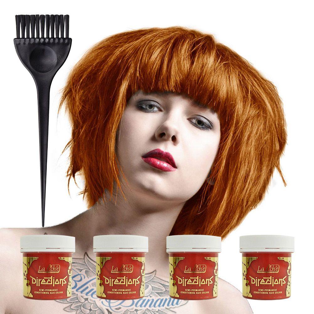 La riche directions colour hair dye pack ml tangerine hair