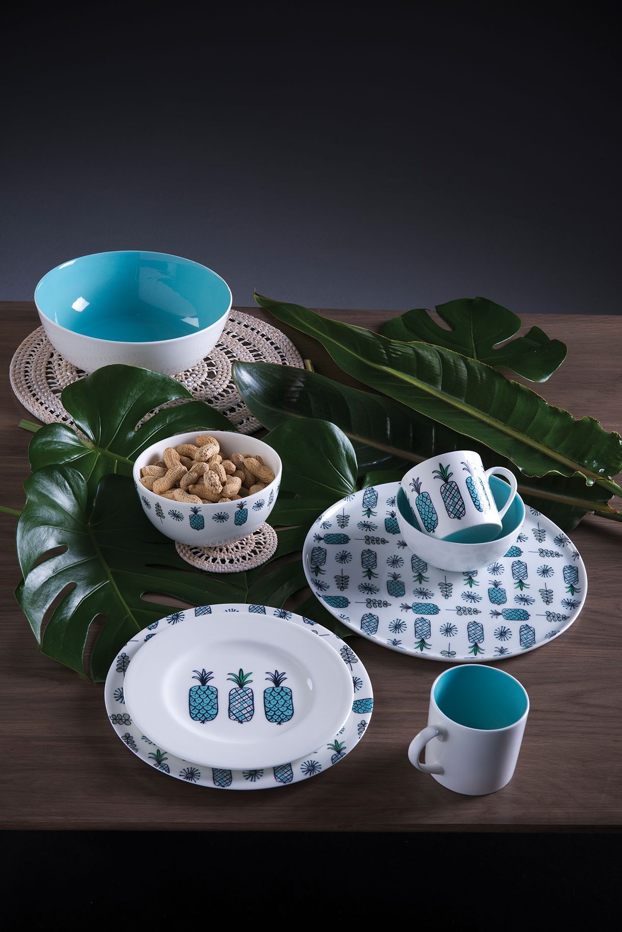 Citta Design Summer 2014 15 Collection A Midsummer Daydream Inspired By The City Of Hanoi Kitchen Dining Dining Mint Salad