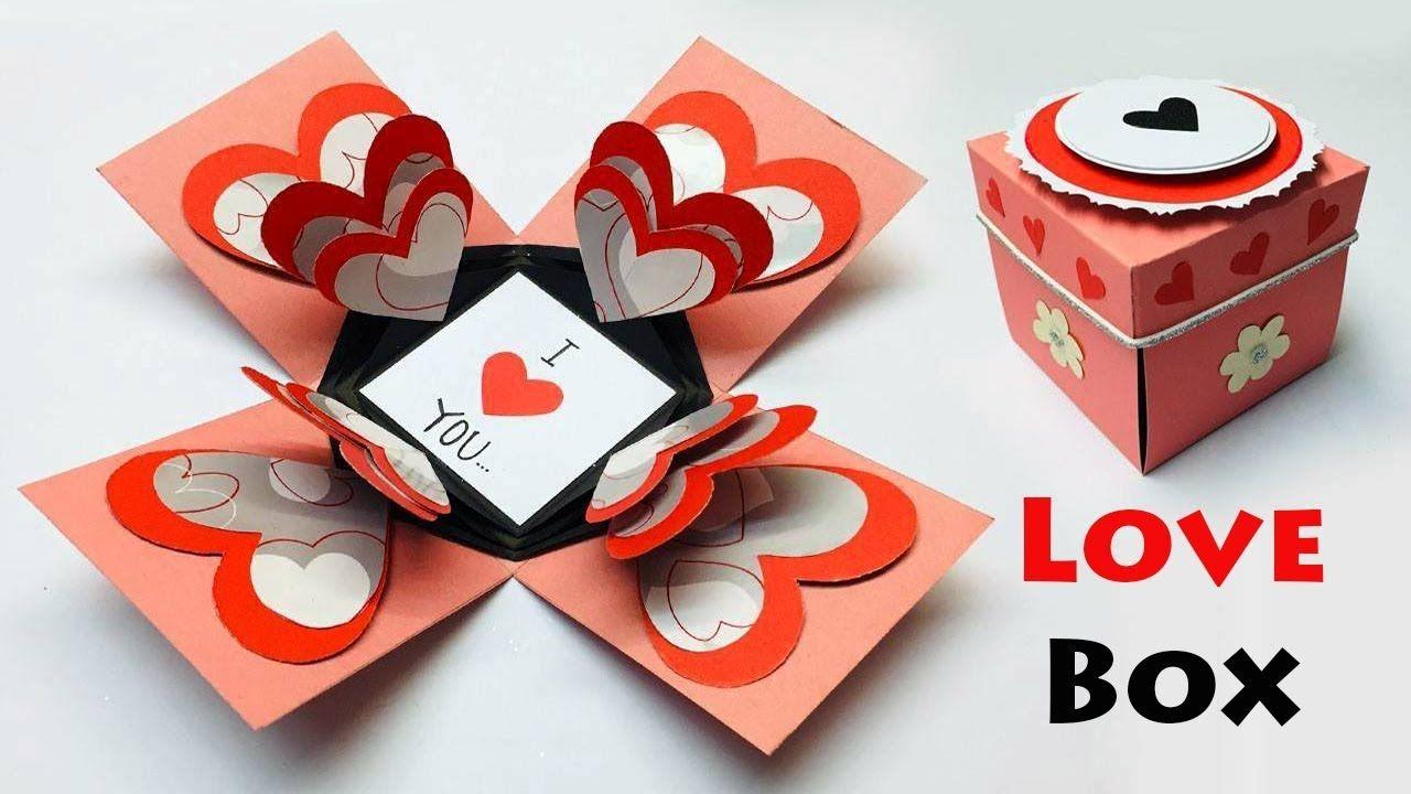 Love Box Card Greeting Cards Latest Design Handmade I