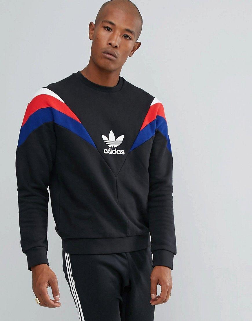 In Originals Sweat Pack Black Petersburg Adidas St Crew Neva Neck b7gf6y