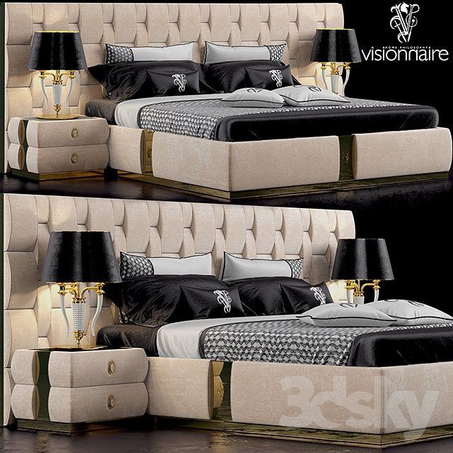 Bed visionnaire perkins bedroom pinterest bedrooms for 9x11 room design