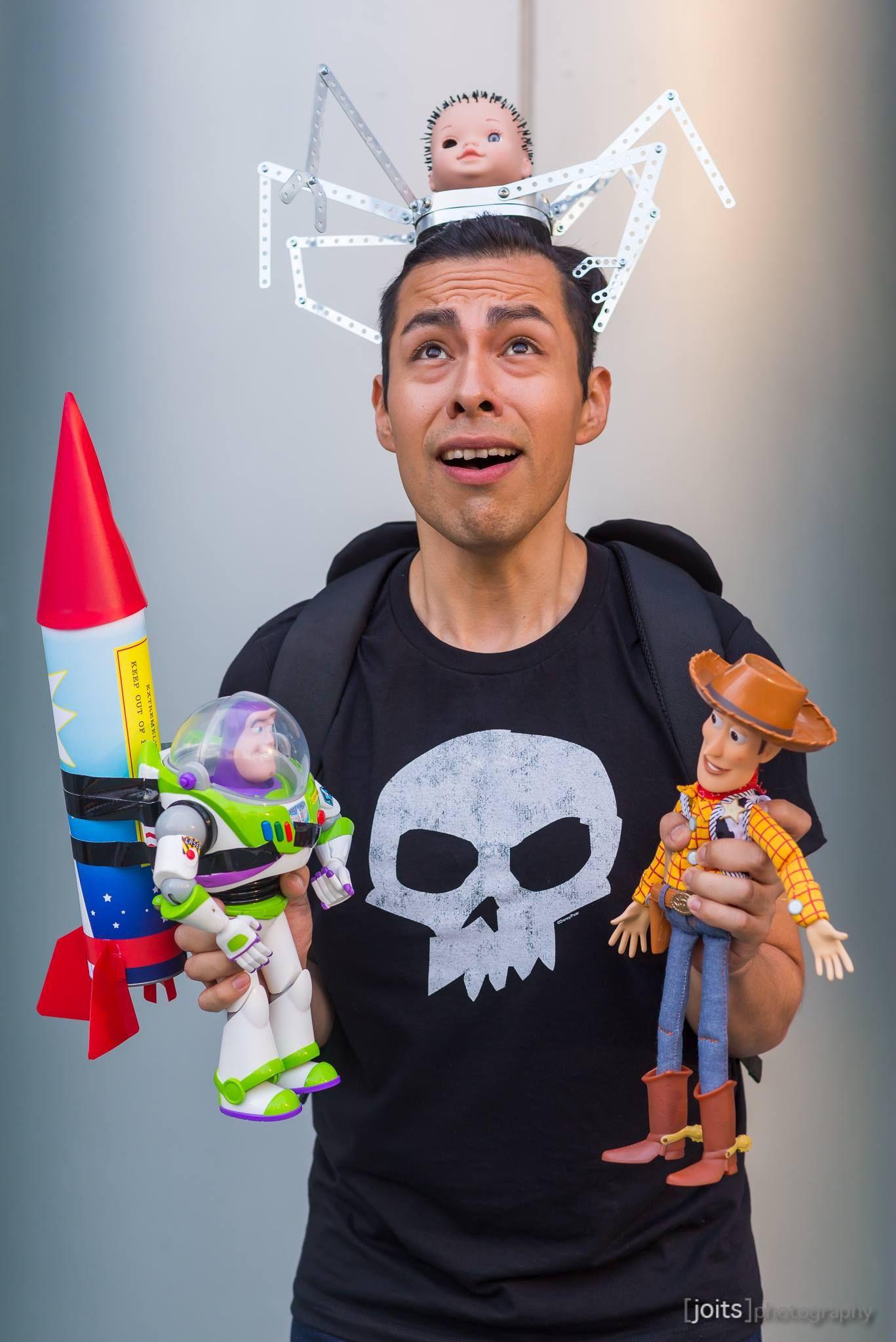 Sid Toy Story Cosplay D23expo2017 Ayden Cosplay Halloween