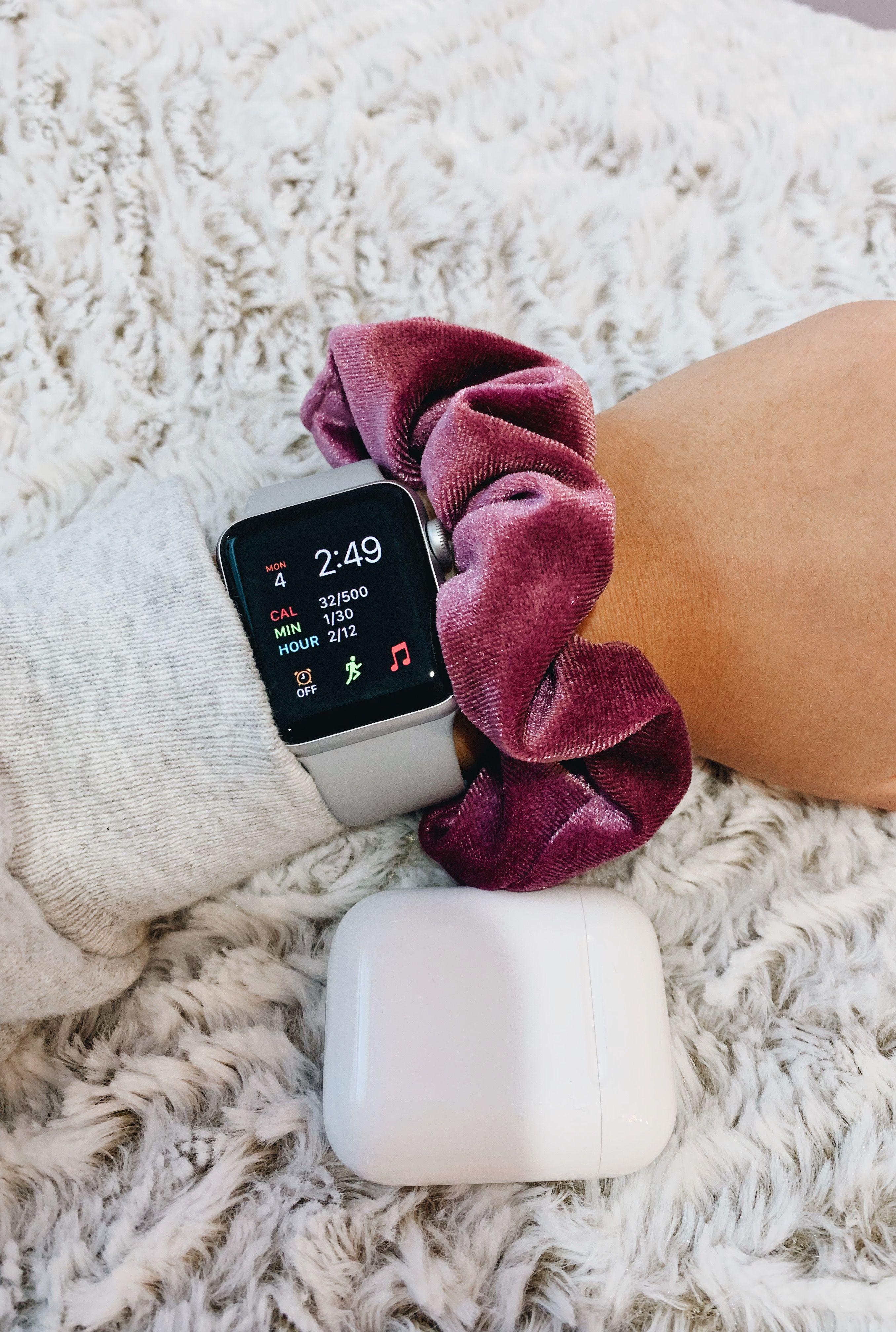 Applewatch Scrunchie Airpods Luxury Essentials Vsco Fancy