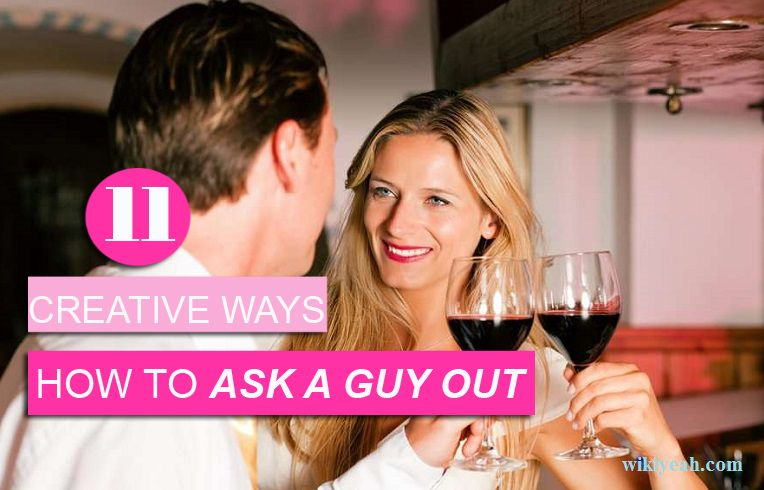 How do you ask a guy out on a date
