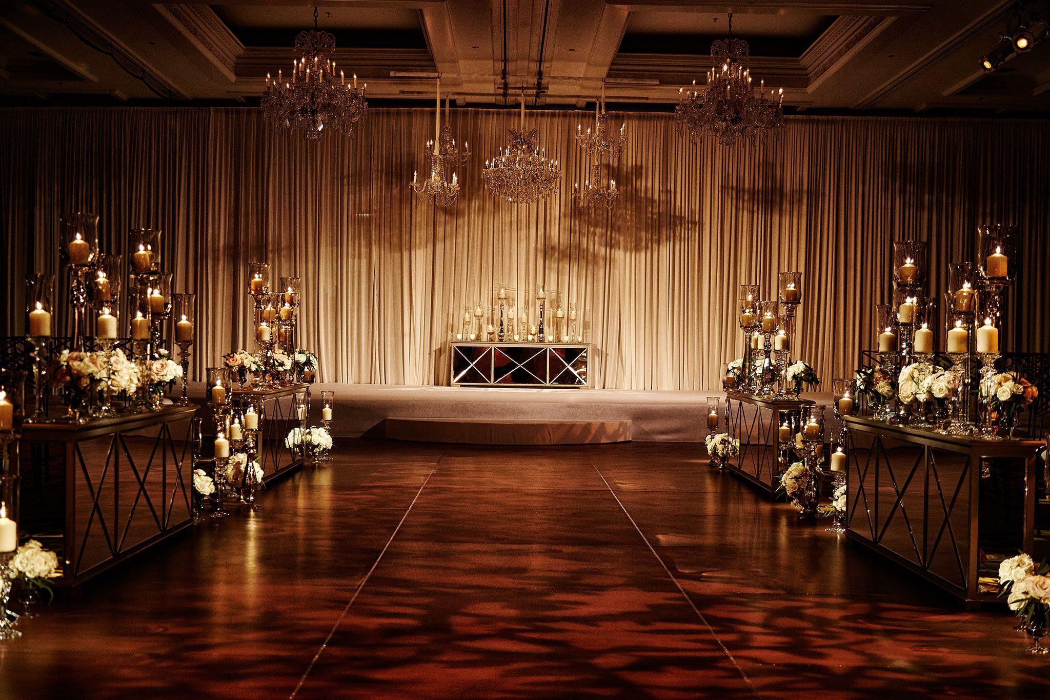 An Opulent Spring Wedding With Timeless Elegant Decor In Chicago Inside Weddings Wedding Rentals Decor Elegant Decor Wedding Drapery