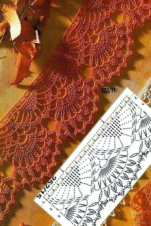 José Crochet: De Johanna shawl | li | Pinterest | Tela, Tejido y ...