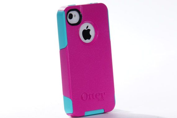 iPhone 4 Otterbox Case, Otterbox, iPhone 4S Otterbox Case, Custom Pink Otterbox Color Combination