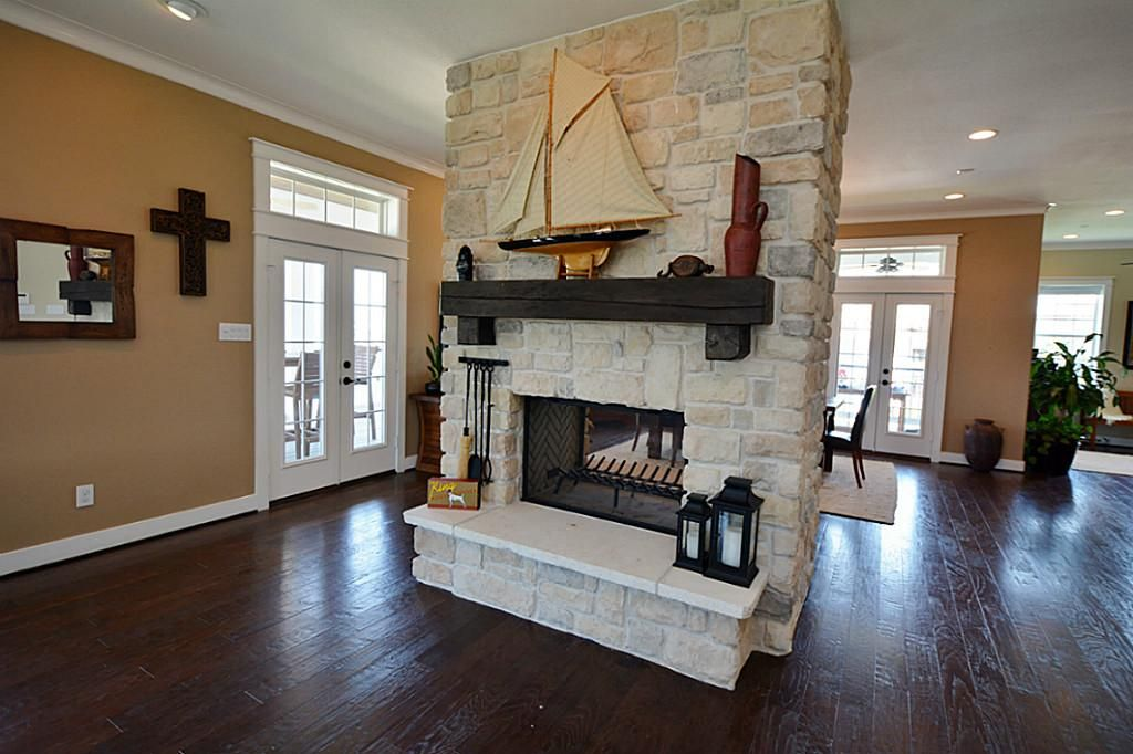 see through fireplace indoor outdoor - Google Search | dining room ...