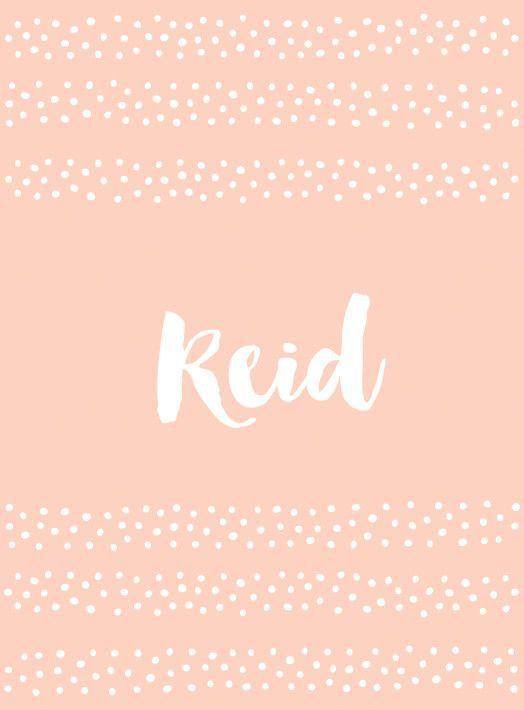 Reid - Coole Babynamen, die nicht besonders beliebt sind - Fotos - #babynamen #beliebt #besonders #coole #Die #fotos #nicht #Reid #sind #babynamesboy