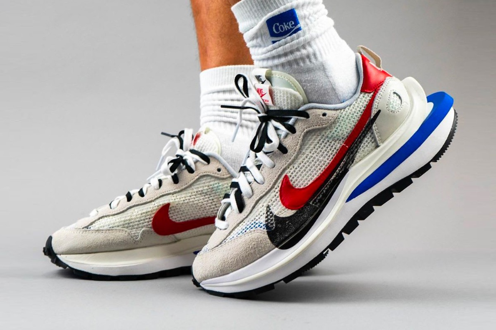 Take an On-Foot Look at the Sacai x Nike Pegasus VaporWaffle SP ...