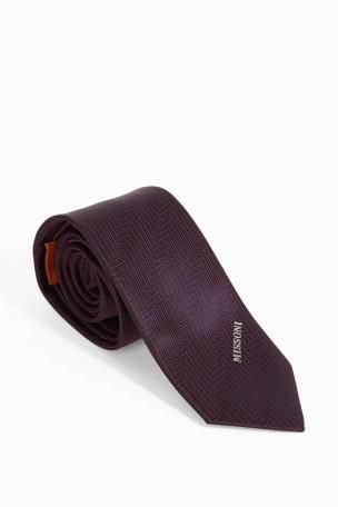 MISSONI Woven Chevron Tie. #missoni #