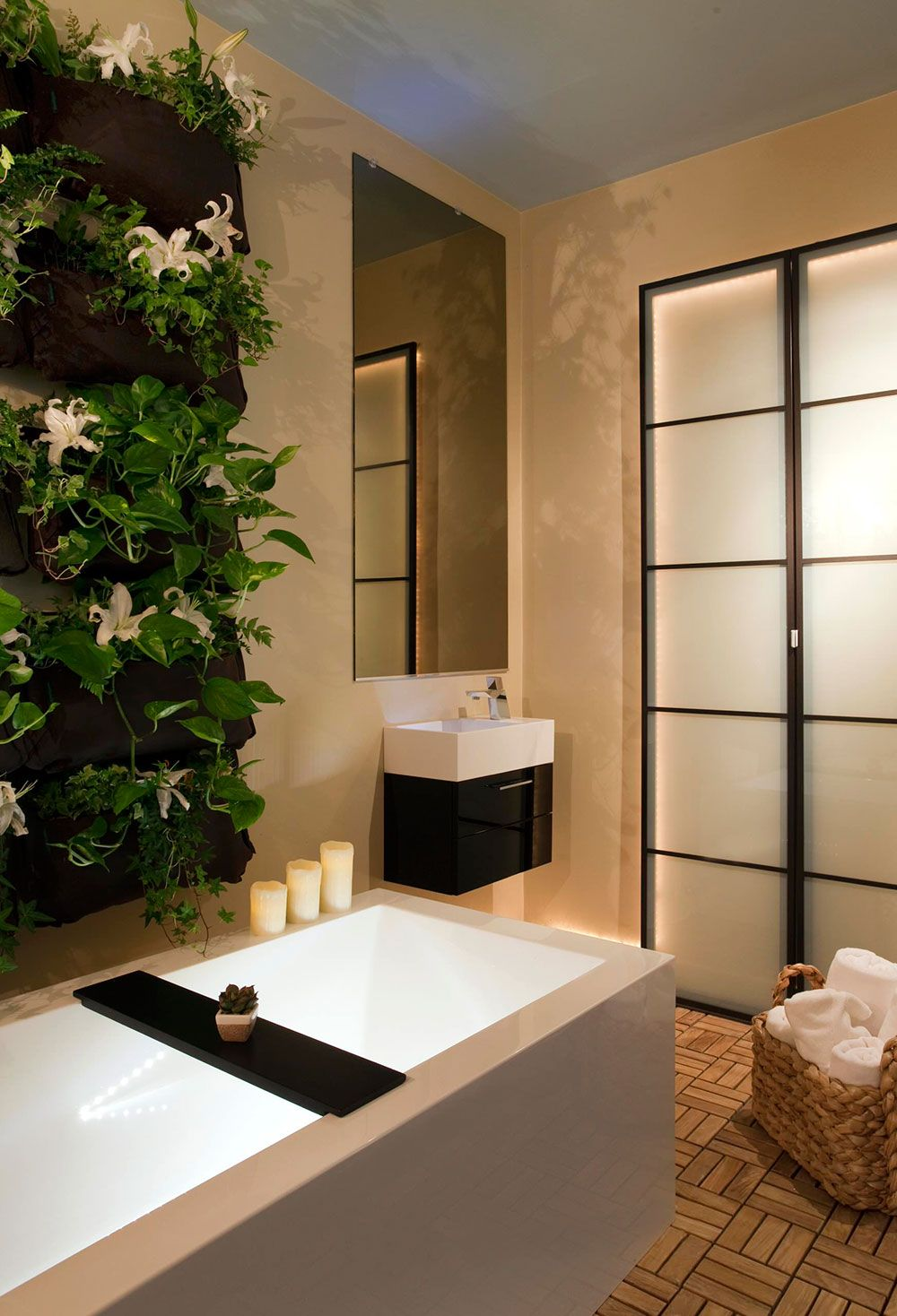 Tips For A Spa Bathroom Makeover  Spa Bathrooms Spa And Window Sizes Glamorous Luxury Spa Bathroom Designs Decorating Inspiration