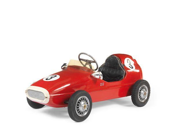 A Rare Early Ferrari F Cheetah Cub Racer Childs Car By Glass Fibre Ltd