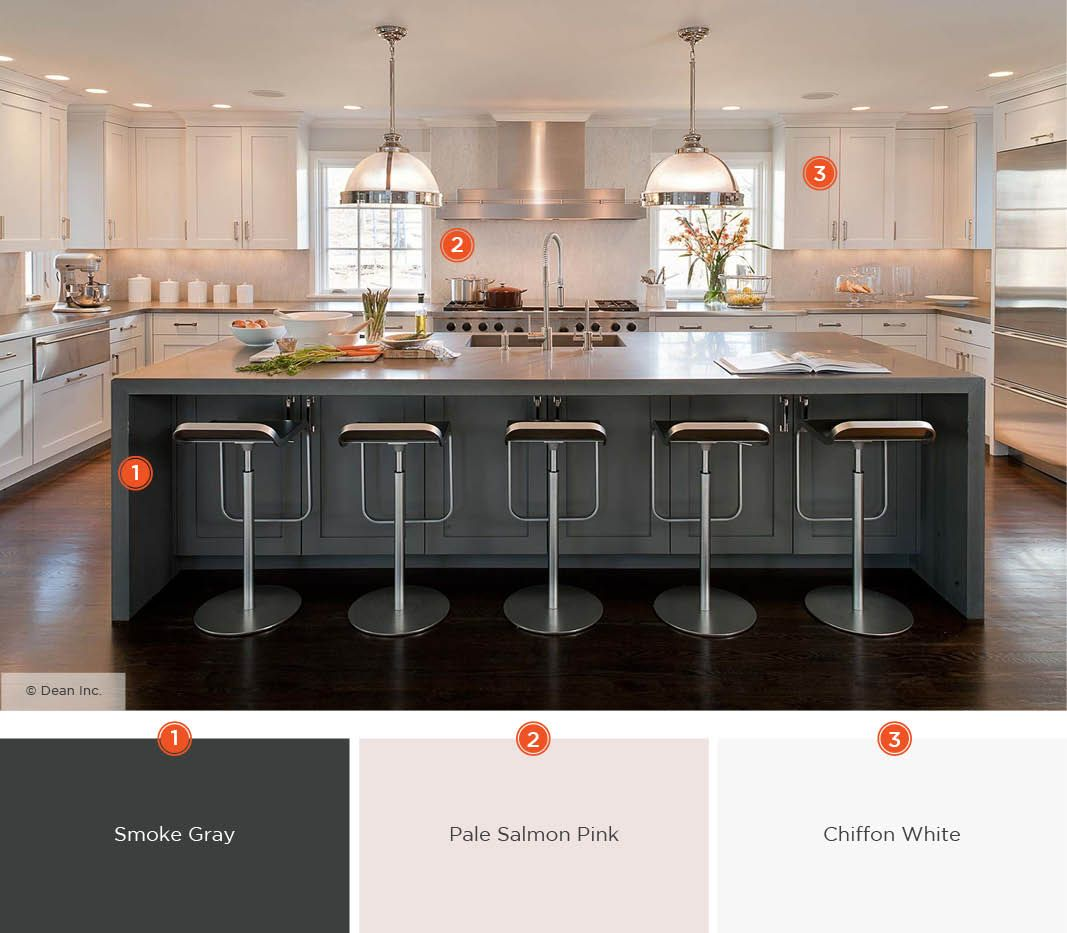 20 Enticing Kitchen Color Schemes images