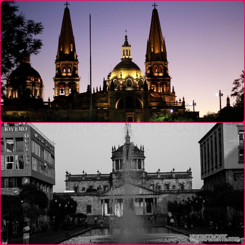 Guadalajara, Teatro Degollado y Hospicio Cabanas