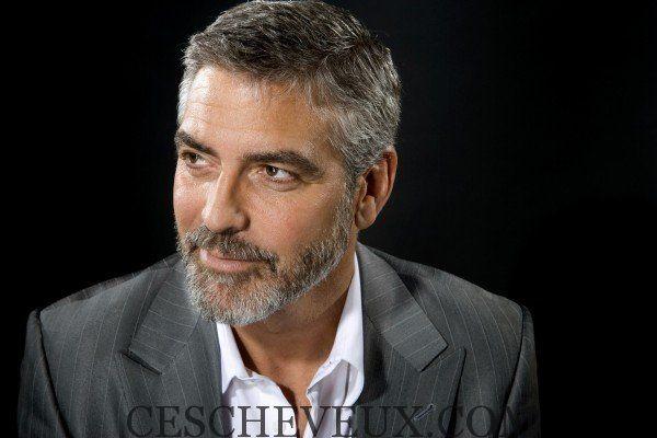 Coiffures 2 015 Hommes D Age Mur George Clooney Cheveux Homme Coiffure Homme 2018 Coupe Cheveux Homme