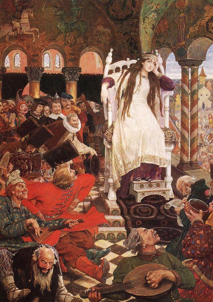 A. Afanase'ev:La principessa che non rideva