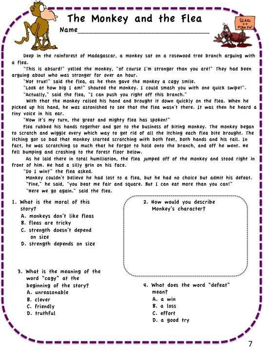 Pin By Dragon S Den Curriculum On Fourth Grade Teaching Ideas 4th Grade Reading Common Core Reading Common Core Common core reading worksheets grade