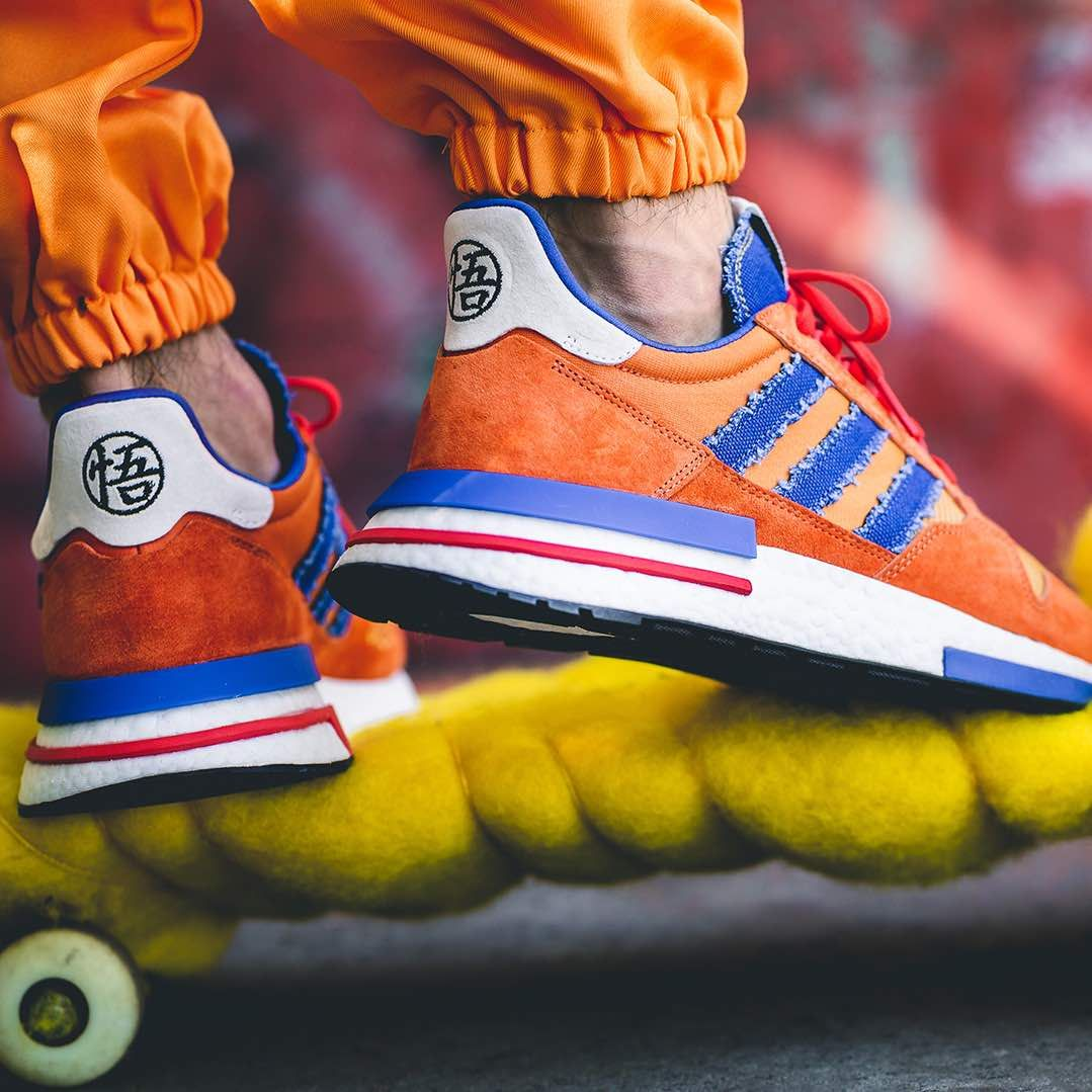 quality design 29aa9 66f30 Adidas x Dragonball Z ZX 500 RM « Son Goku » | shoes ...