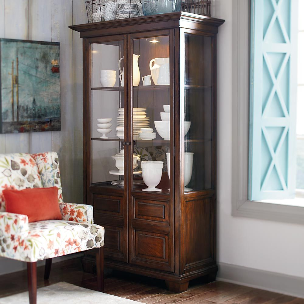 China Cabinet By Bassett Furniture