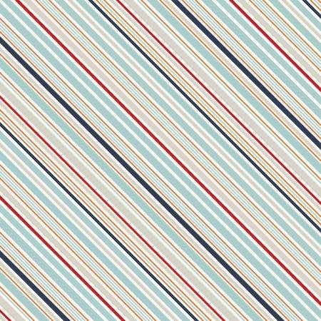 "BTY~RILEY BLAKE FABRICS 100/% COTTON~ HAPPY DAY ~ STRIPE ~ MULTI ~45/""W"