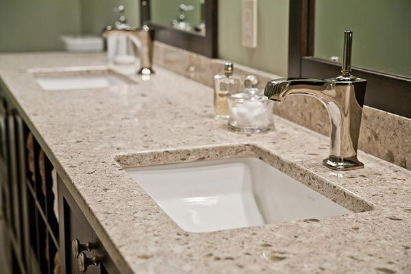5 Best Bathroom Vanity Countertop Options White Granite