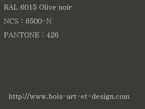 ral 6015 olive 564 423 codes ral codes ncs codes pantone 207 r f rences. Black Bedroom Furniture Sets. Home Design Ideas