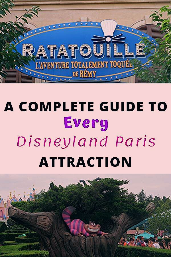 Photo of A Complete Guide to Every Disneyland Paris Attraction